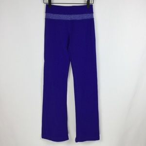 Lululemon Groove Pants, purple, size 2